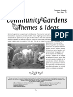 Themes and Ideas for Community Gardens