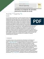 Efecto de los electrolitos en la flotación de minerales de cobre en presencia de minerales de arcilla