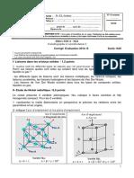 273688464 Cristallographie Et Cristallochimie ICorrige2015