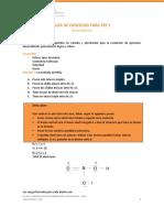 Recopolación 2 ejerccios para PEP 2