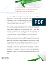 qué son soluciones buffer y cómo regulan la amortiguación en plantas y animales.pdf