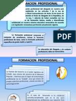 formación profesional derecho