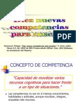 Diez Nuevas Competencias para Enseñar (1)