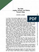 De Boer - The Polls - Changing Public Attitudes Towards China - Public Opin Q-1980-44!2!267-73