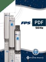 Brocure Pump FPS 4400 4 Inch Franklin Electric