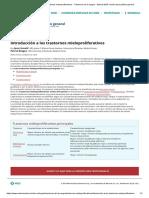 Introducción a los trastornos mieloproliferativos