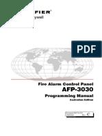 MCFA AFP-3030 Programming Manual (AUS) Rev C