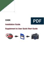 CHDK Installation Guide