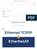 RTA_EtherNet_IP and TCP_IP - Real Time Automation, Inc_