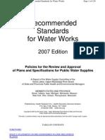 10 stater standards - waterworks