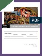 H. México II. Cuadernillo de Trabajo. Unidad 1_2020