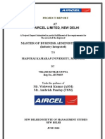 Aircel Final Project Report (Vikash)