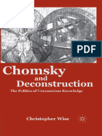Christopher Wise - Chomsky and Deconstruction_ The Politics of Unconscious Knowledge-Palgrave Macmillan (2011).pdf