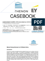 Parthenon EY Casebook Consulting Case Interview Book安永_帕特侬_帕特农咨询案例面试