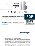 Roland Berger RB Casebook Consulting Case Interview Book罗兰贝格咨询案例面试
