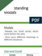 Understanding Modals