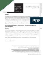 Debilidades institucionales en el nivel local. Desafíos de la gestión territorial de la paz.pdf