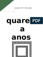 Poesia de AJBFMarcondes 1965 até hoje