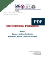 Documento Guía. Investigación Módulo I
