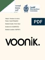 Voonik - Strategic Management