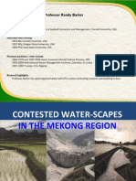 Contested waterscapes in the Greater Mekong Basin