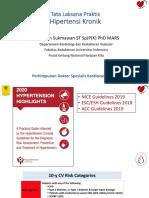 Hand out Tata Laksana Hipertensi Kronik DR  Renan - Mamuju 2019
