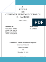consumer-behaviour-towards-E-Banking-Final-report