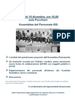 Assemblea ISS del 10.12.10 - La locandina