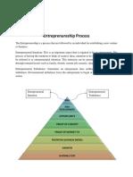 Entreprenureship Process