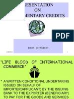 Presentation on Docy. Credits