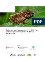 Biodiversity baseline assessment in the REDD-plus and KBA in Mt. Nacolod, Southern Leyte.pdf