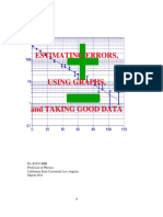 Estimating Error Using Graphs and Taking Good Data, Dr. RH Carr 2011 - Paper