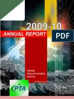 PTA Annual Report 2010