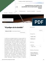 """""""El peligro de la desidia"""" – Iglesia Avivando La Fe"""