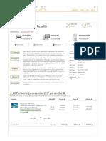 Gigabyte GA-B250-FinTech-CF Performance Results - UserBenchmark