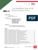 SmartWorx Viva Release Notes v400