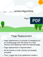 page replacement and segmentation
