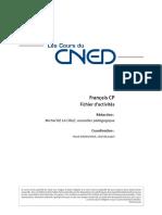 Cours CNED CP Français
