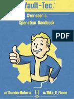 Overseer's Operation Handbook 1.1