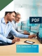 TIA Selection Tool
