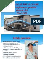 RAPORT DE AUTOEVALUARE pentru confirmarea gradului didactic doi.pptx