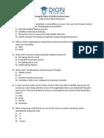 CySA (CS0-001) Practice Exam