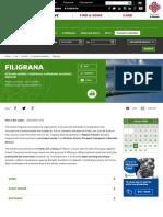 filigrana - bologna welcome