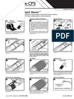 Instalation Guide - GTS PP - Wrapid sleeve