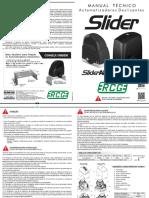 Manual motor RCG Slide Fast