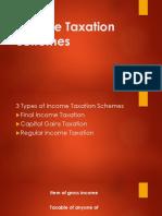 Income Taxation Schemes
