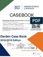 Virgina Darden Casebook Consulting Case Interview Book 2018_2019弗吉尼亚大学达顿商学院咨询案例面试