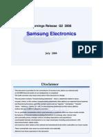 Samsung Electronics Conference 080725 En