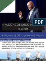 Roger Lannoy - 4 Façons De Découvrir Vos Talents