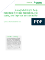 Whitepaper How new microgrid designs help hospitals increase resilience, cut costs, and improve sustainability